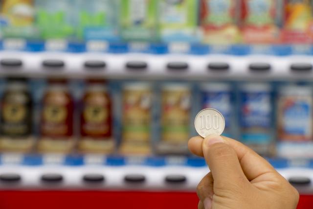 自動販売機で障がい者がよく買う飲み物は