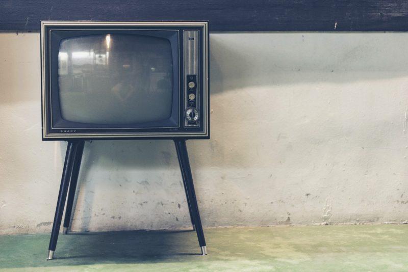 テレビのために