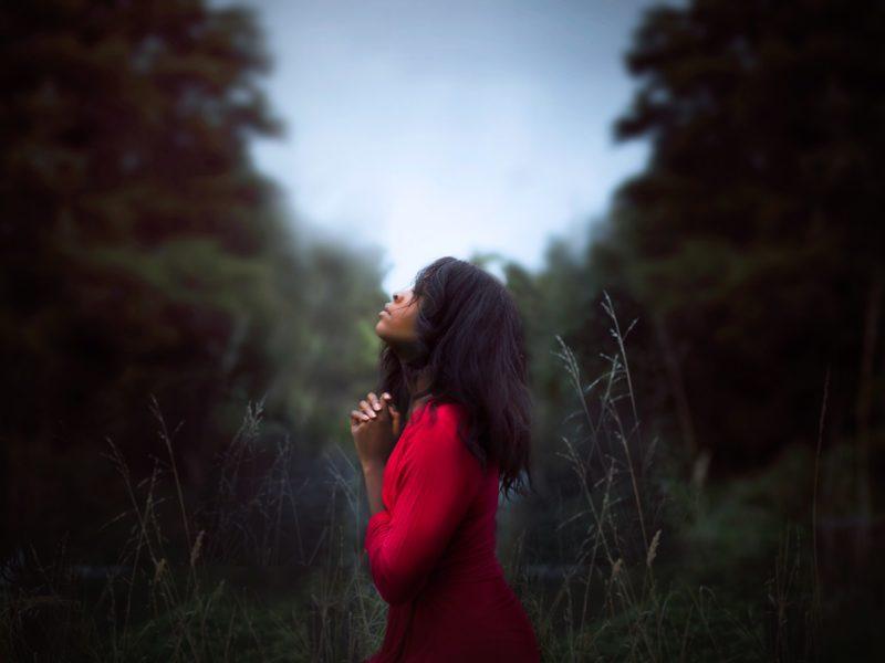 祈りと少女