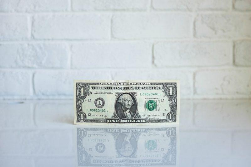 紙幣と給与