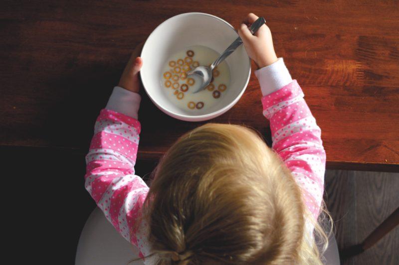 子どもの食事形態