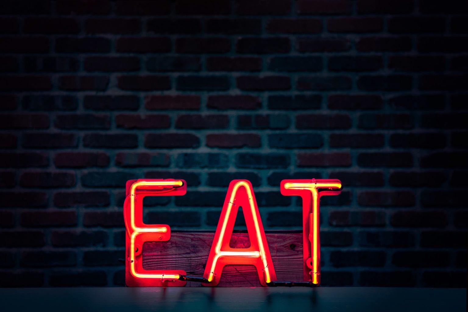 ネオンサイン-EAT