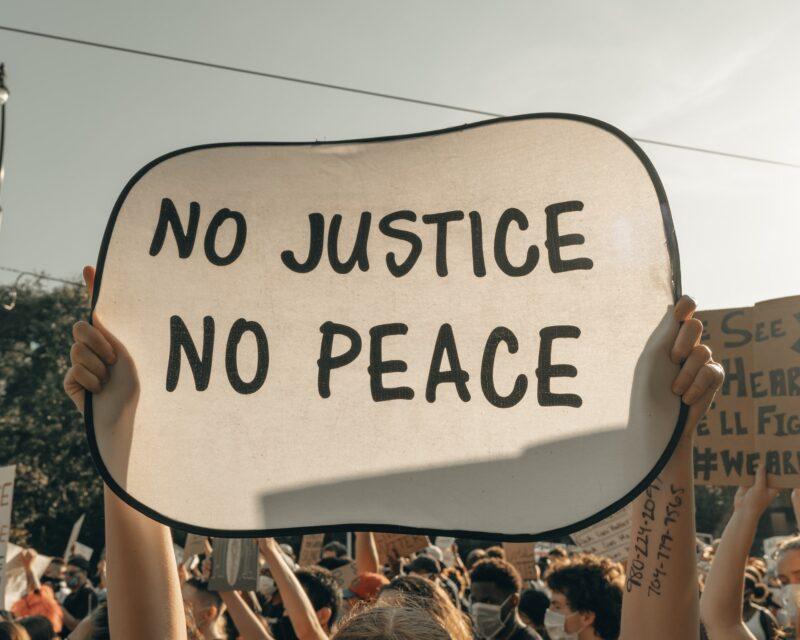 正義なくして平和なし